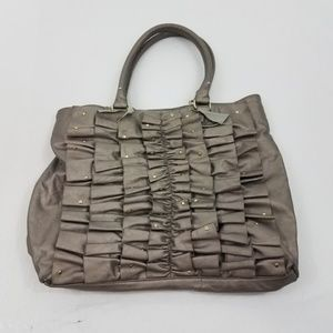 ~ Steve Madden Purse Shoulder Tote Bucket Bag Ruff